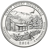 2014 - S Great Smoky Mountain National Park Quarter Single Coin
