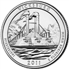 2011 - P Vicksburg - Roll of 40 National Park Quarters