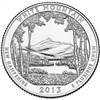 2013 - D White Mountain National Park Quarter Single Coin