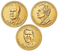 2016 - P and D Presidential Dollar 6 Coin Set