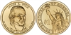 2009 James K. Polk Presidential Dollar - 2 Coin P&D Set