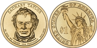 2009 Zachary Taylor Presidential Dollar - 2 Coin P&D Set