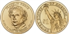 2010 Franklin Pierce Presidential Dollar - 2 Coin P&D Set