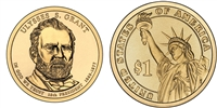 2011 Ulysses S. Grant Presidential Dollar - 2 Coin P&D Set