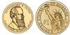 2011 Rutherford B. Hayes Presidential Dollar - 2 Coin P&D Set