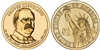 2012 Grover Cleveland 1st Term Presidential Dollar - 2 Coin P&D Set