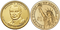 2014 Warren G. Harding Presidential Dollar - 2 Coin P&D Set