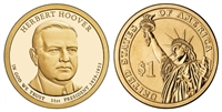 2014 Herbert Hoover Presidential Dollar - 2 Coin P&D Set