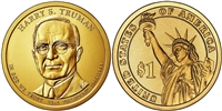 2015 Harry S. Truman Presidential Dollar - 2 Coin P&D Set