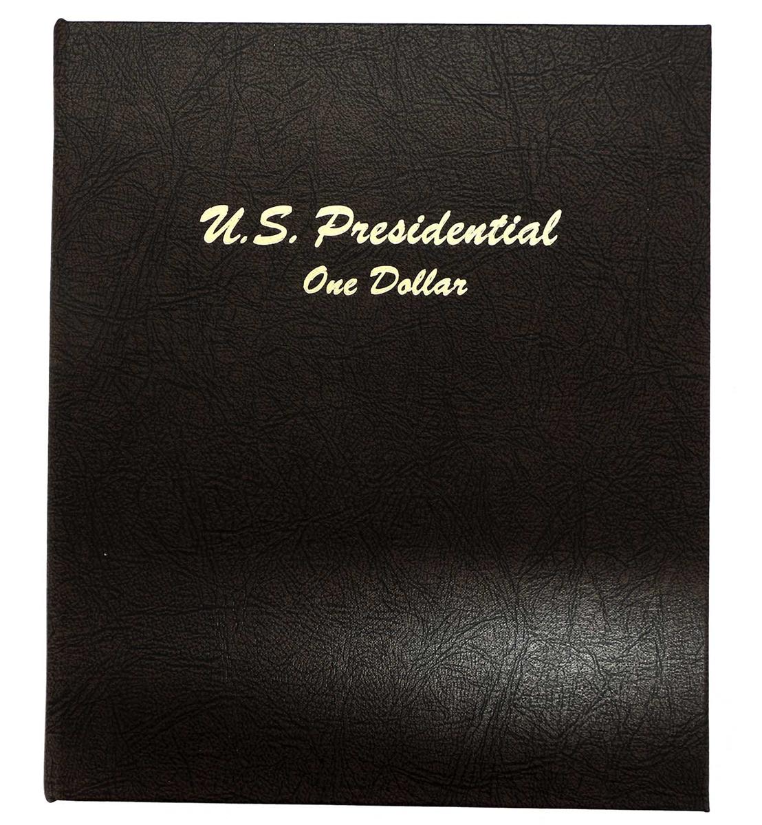 2007-2016 Presidential $1 P/&D 78 Coin COMPLETE Uncirculated Set in Dansco Album