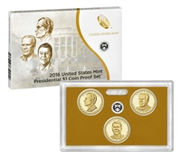 2007 - 2016 S Presidential Dollar Proof Sets in OGP 39 Coin Complete Set