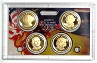 2007 Presidential 4-coin Proof Set - No Box or CoA