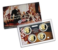 2007 Presidential 4-coin Proof Set w/Box & COA