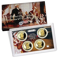 2008 Presidential 4-coin Proof Set w/Box & COA
