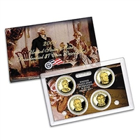 2009 Presidential 4-coin Proof Set w/Box & COA