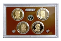 2012 Presidential 4-coin Proof Set - No Box or CoA