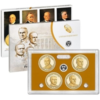 2014 Presidential 4-coin Proof Set w/Box & COA