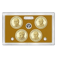 2015 Presidential 4-coin Proof Set No Box or COA