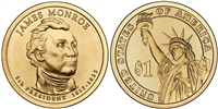 2008 - D James Monroe - Roll of 25 Presidential Dollar
