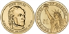 2009 - D John Tyler - Roll of 25 Presidential Dollar