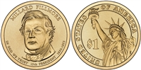 2010 - D Millar Fillmore - Roll of 25 Presidential Dollar