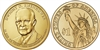 2015 - P Dwight Eisenhower - Roll of 25 Presidential Dollar