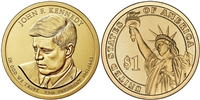 2015  John F. Kennedy Presidential Dollar - Single Coin - Now In Stock!