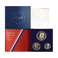 1976 U.S. Proof Set - 3 coin 40% Silver Bicentennial Comemmoratives