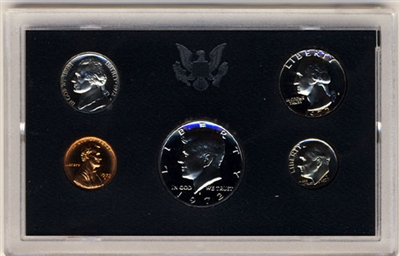 1972 U.S. Mint Clad Proof Set in OGP