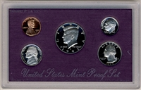 1992 U.S. Mint Clad Proof Set in OGP with CoA