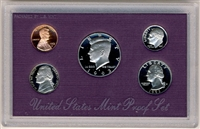 1993 U.S. Mint Clad Proof Set in OGP with CoA