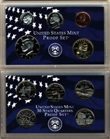 2001 U.S. Mint Clad Proof Set in OGP with CoA