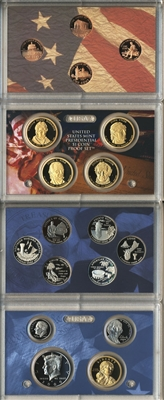 2009 U.S. Mint Clad Proof Set in OGP with CoA