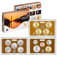 2014 U.S. Mint Clad Proof Set in OGP with CoA