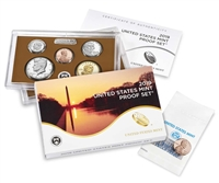 2019 U.S. Mint Clad Proof Set in OGP with CoA and PREMIUM PENNY