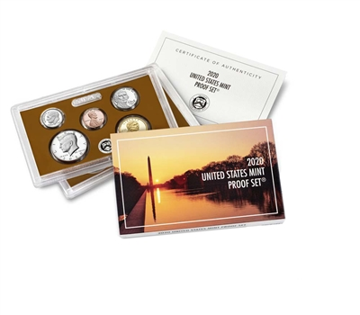 2020 U.S. Mint Clad 10 Coin Proof Set in OGP with CoA