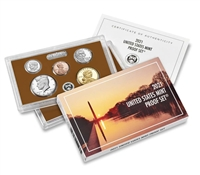 2021 U.S. Mint Clad 7 Coin Proof Set in OGP with CoA