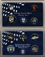 1999 - 2009 US Proof Sets - 11 Set Combo Deal