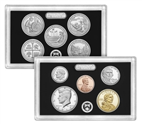 2019 U.S. Mint 10-coin Silver Proof Set - OGP box & COA