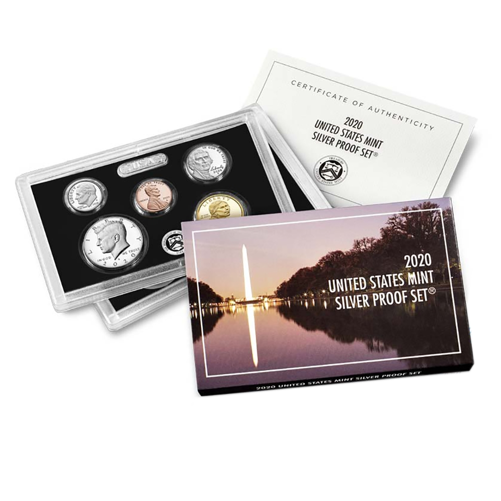 2012-S US Mint Silver America the Beautiful Quarter Proof Set in OGP /& COA