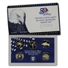 1999 - S Clad Proof State Quarter 5-pc. Set With Box/ COA