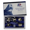 2007 - S Clad Proof State Quarter 5-pc. Set With Box/ COA