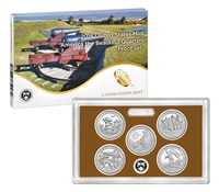 2016 - S Clad Proof National Park Quarter 5-pc. Set With Box/ COA