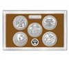 2020 - S Clad Proof National Park Quarter 5-pc Set No Box or CoA