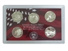 2002 - S Silver Proof State Quarter 5-pc. Set No Box or CoA
