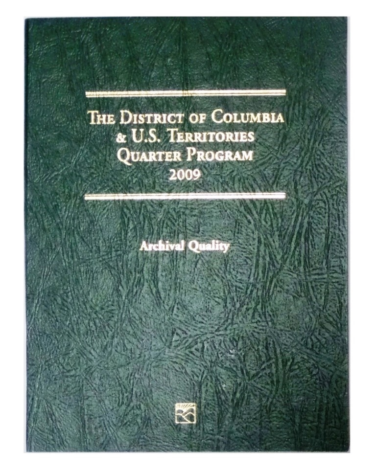Complete set US STATE QUARTERS /& Territories 1999-2009 New Littleton folder