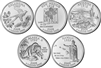 2008 P and D BU State Quarter 10 Coin Set