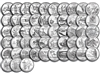 "Complete 1999 thru 2009 ""P"" 56 Coin B.U State Quarter Set"