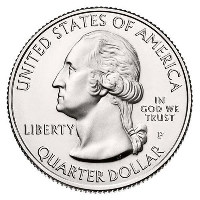 US National Park Quarter 2014-P D S  BU Mint State 3 Coins Arches