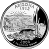 2008 - P Arizona State Quarter